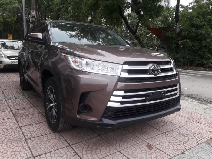 Toyota Highlander sản xuất năm 2017 Số tự động Động cơ Xăng