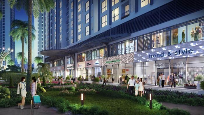 Cho thuê shophouse chung cư An Bình City