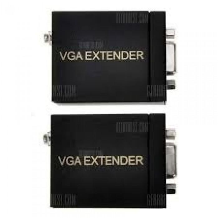 Bộ truyền dài 60m Vga Không cần cài đặt, chỉ cần nối dây vào thiết bị là chạy2
