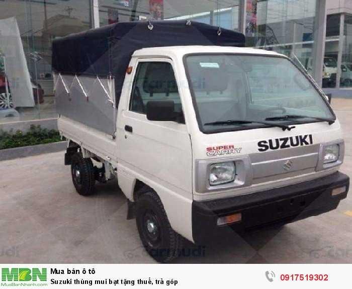 Suzuki thùng mui bạt tặng thuế, trả góp