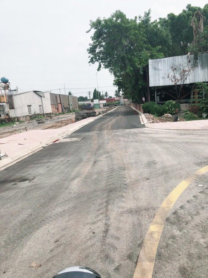 Đất thổ cư Lê Thị Hà shr đường nhựa 8m gần chợ