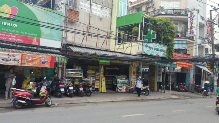 MT Nguyễn Văn Đậu. 7.3x16, hậu nở 10m.