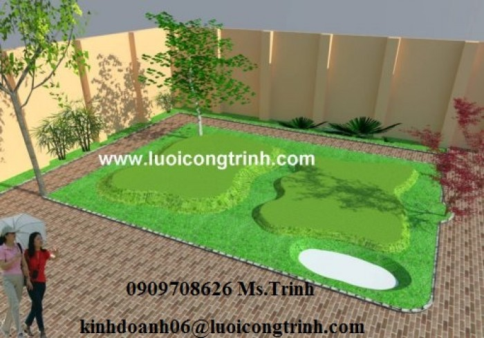 Thiết kế, thi công sân Golf chất lượng, uy tín, giá rẻ2