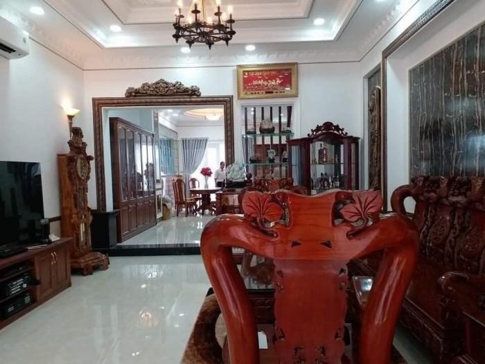 Nhà bán hẻm 1979 đường Huỳnh Tấn Phát, gần cầu Phú Xuân, chợ Phú Xuân, Nhà Bè, TPHCM. Diện tích 90m2