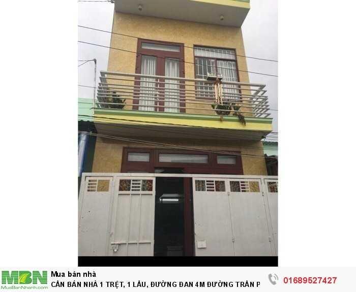 Cần Bán Nhà 1 Trệt, 1 Lầu, Đường Đan 4M Đường Trần Phong Sắc, F4, Tp Tân An, Long An