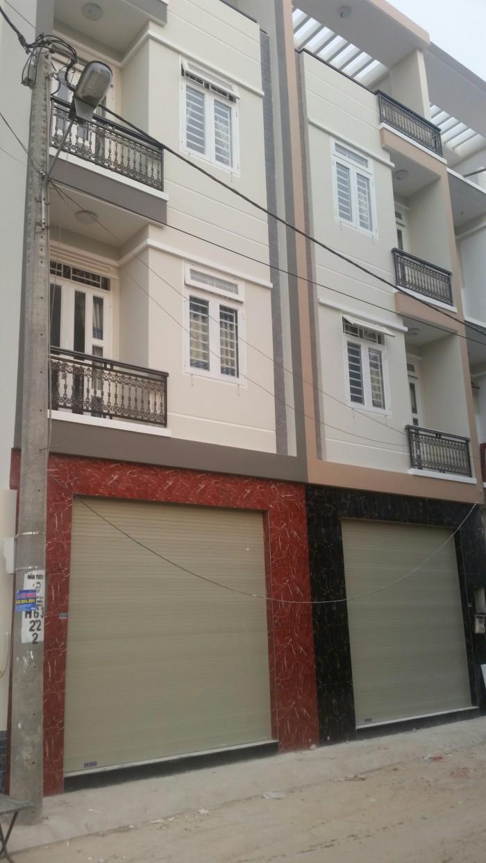 Bán Nhà Phố 1 trệt 3 Lầu Mới Xây Đường 1 Xẹt Nguyễn Ảnh THủ Q12