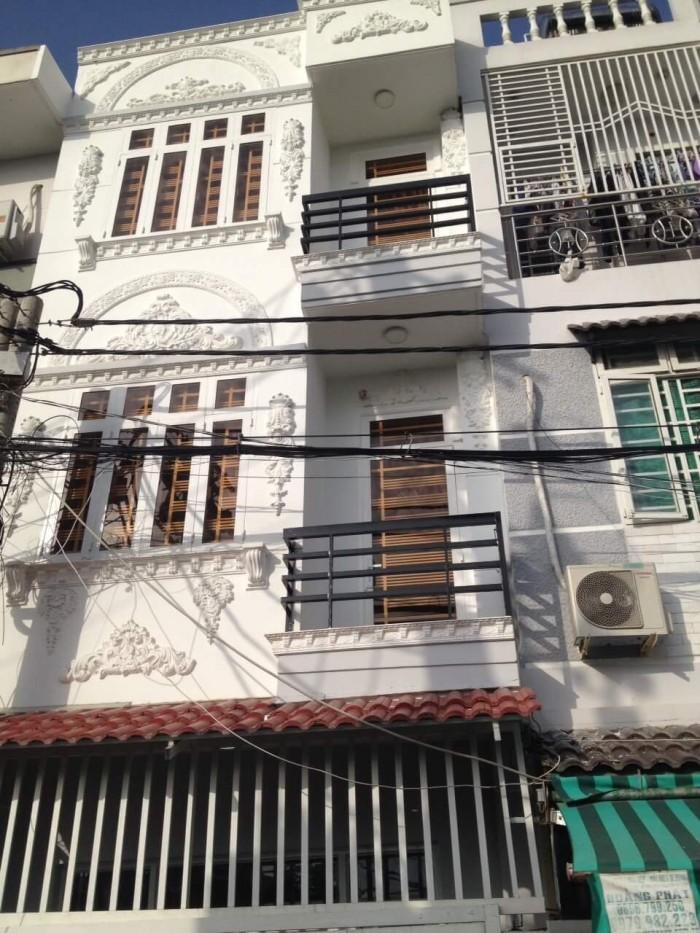 Bán nhà 4m x 14m đường Huỳnh Tấn Phát, Nhà Bè, nhà đẹp, bố trí hợp lý diện tích 56m2 giá 3.45 tỷ