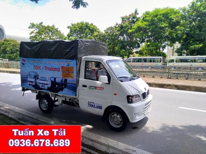 Xe tải DFSK 900kg,giá rẻ,khuyến mại lớn,hỗ trợ trả góp