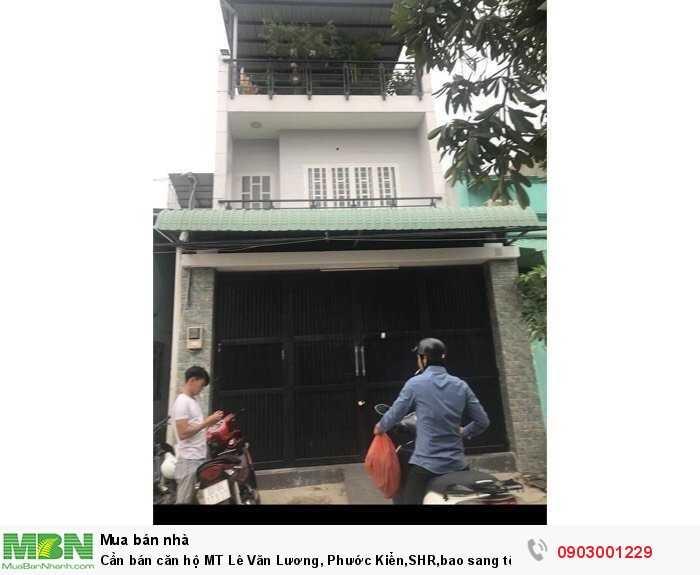 Cần bán căn hộ MT Lê Văn Lương, Phước Kiển,SHR,bao sang tên công chứng