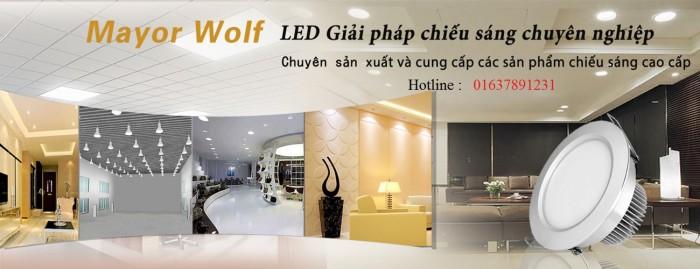 Đèn LED công xưởng, đèn chiếu sáng dùng trong sản xuất công nghiệp chính hãng - Mayor Wolf5