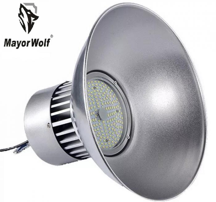 Đèn LED công xưởng, đèn chiếu sáng dùng trong sản xuất công nghiệp chính hãng - Mayor Wolf1