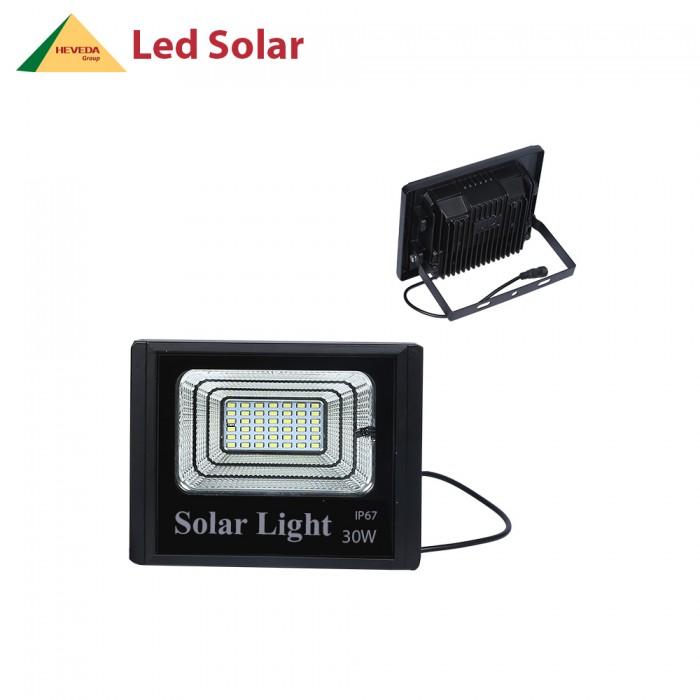 Đèn LED pha năng lượng mặt trời 30W3