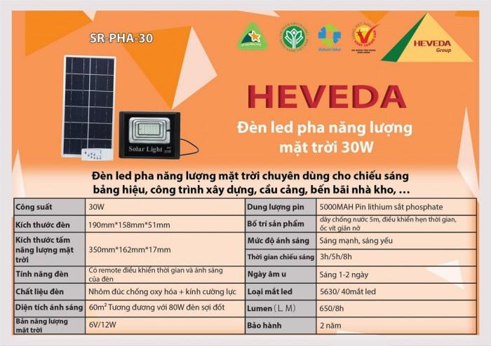 Đèn LED pha năng lượng mặt trời 30W2