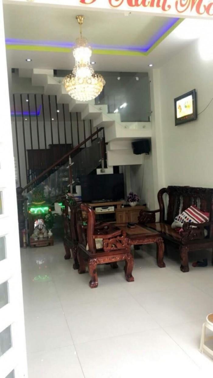 Bán nhà hẻm 2295 đường Huỳnh Tấn Phát KP7 Thị Trấn Nhà Bè, Huyện Nhà Bè. Vị trí nhà trong KDC đông đúc, đường rộng 6m, xe 7 chổ vào tận nơi.