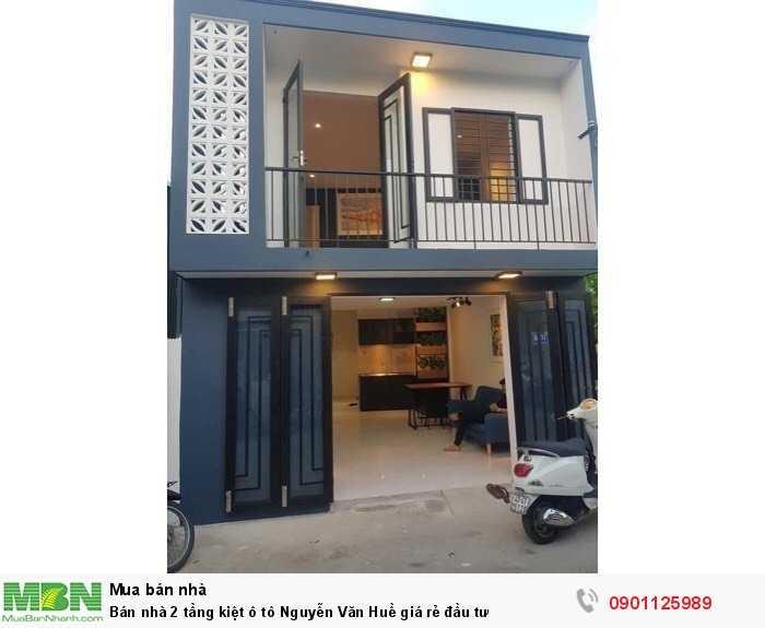 Bán nhà 2 tầng kiệt ô tô Nguyễn Văn Huề giá rẻ đầu tư