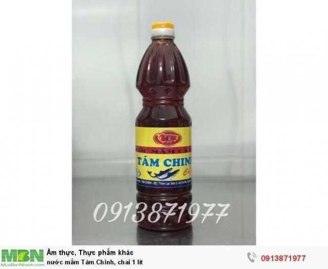 Nước mắm Tám Chinh, chai 1 lít0