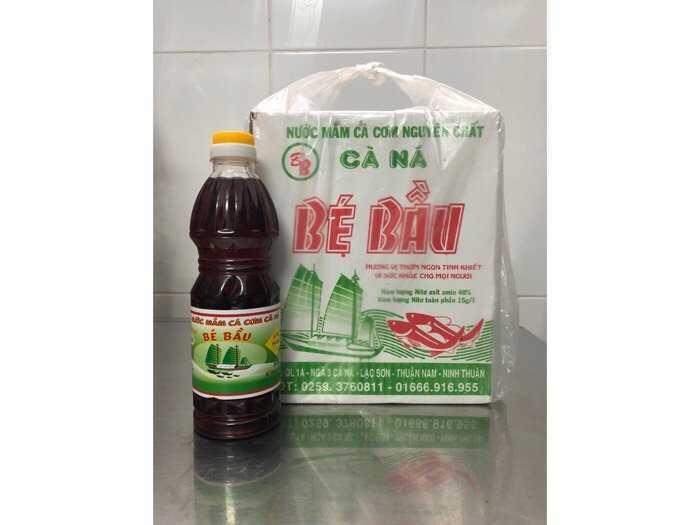 Nước mắm Bé Bầu, chai 500 ml, loại hạng I2