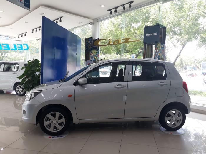 Suzuki Celerio 2019 số tự động, màu bạc, nhập khẩu nguyên chiếc