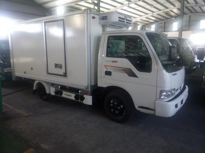 Bán xe K165 thùng đông lạnh