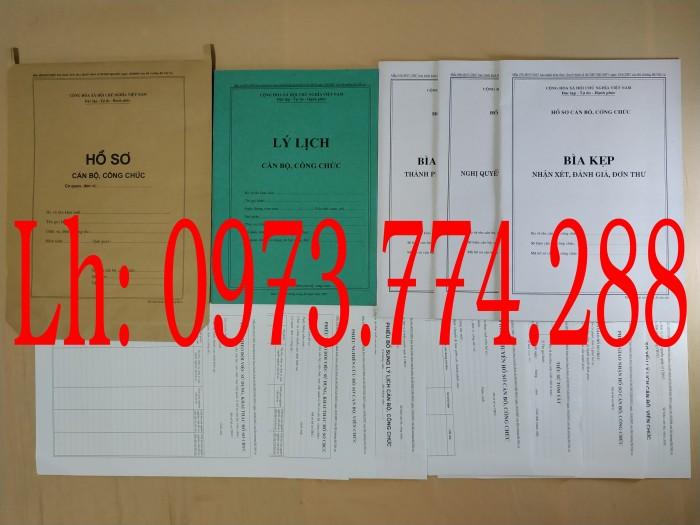 nơi bán, địa điểm cần mua lý lịch, bộ hồ sơ cán bộ viên chức, công chức có các loại mẫu
