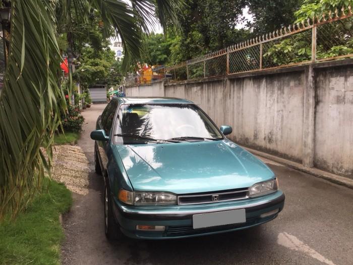 Bán em Honda Accord màu xanh sx 1993 xe còn rất đẹp