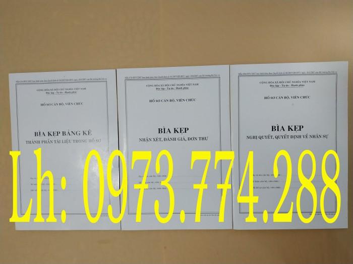 Bán nguyên bộ 3 bìa kẹp tài liệu hồ sơ cán bộ công chức viên chức24