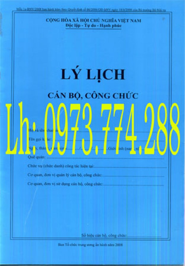 Bán nguyên bộ 3 bìa kẹp tài liệu hồ sơ cán bộ công chức viên chức8