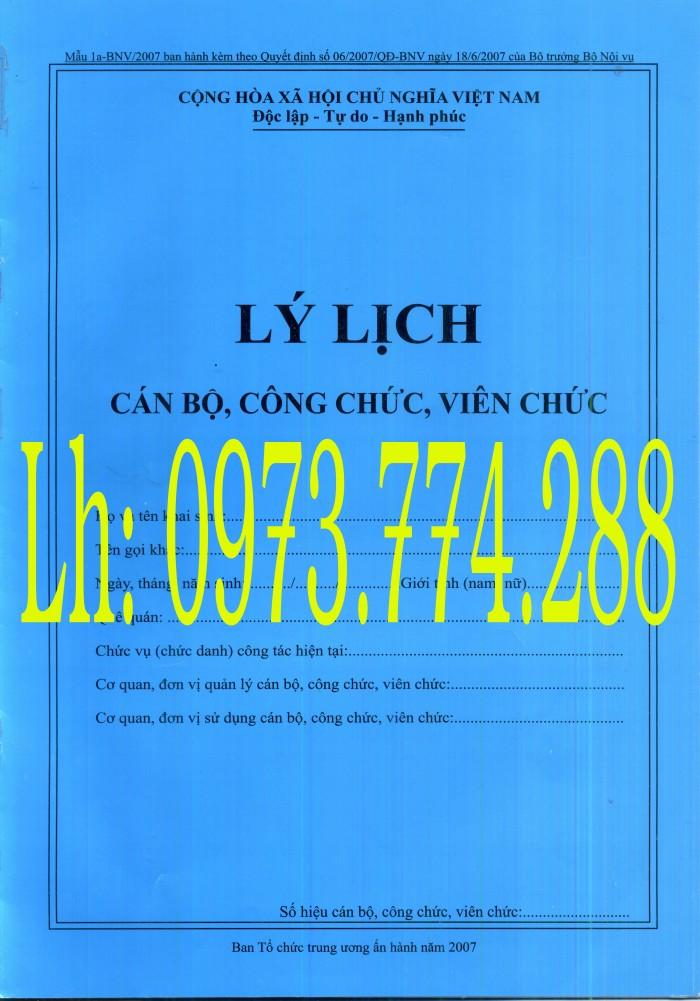 Bán nguyên bộ 3 bìa kẹp tài liệu hồ sơ cán bộ công chức viên chức7