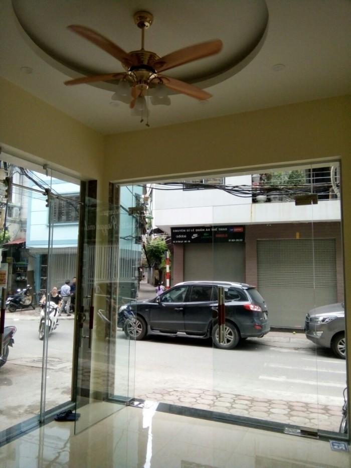 Bán nhà mặt phố Tân Lập,Thanh Nhàn, Hai Bà Trưng 50m2 x 5,5t thang máy, giá 9,8 tỷ, căn góc, KD cực tốt.