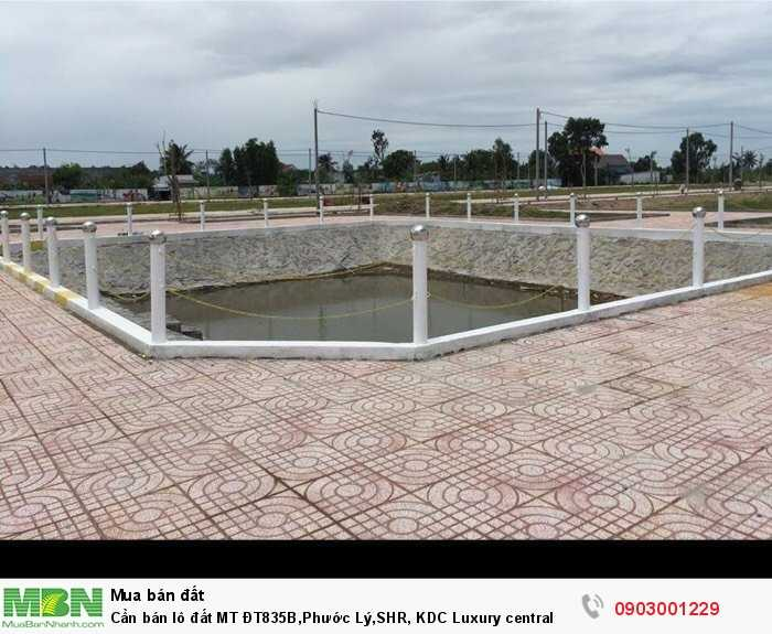 Cần bán lô đất MT ĐT835B,Phước Lý,SHR, KDC Luxury central