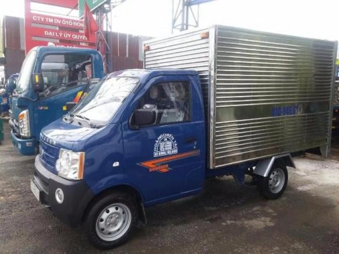Xe tải Dongben 870 kg,máy euro4,trả trước 8 triệu nhận xe ngay 1