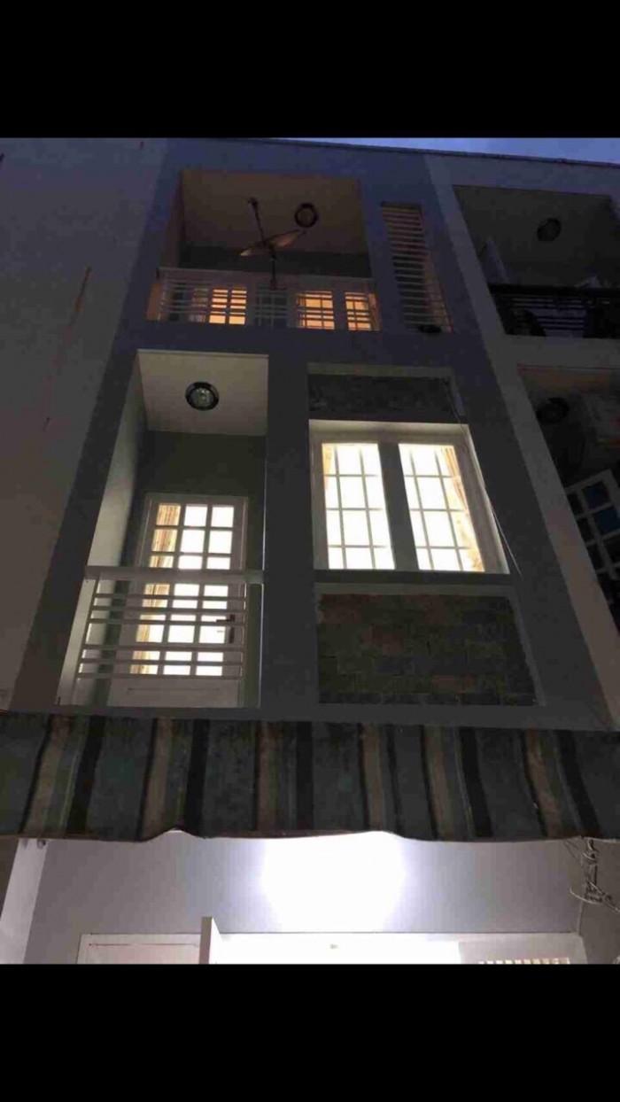 Bán nhà giá rẻ ngay trung tâm Thị Trấn Nhà Bè Tp Hồ Chí Minh, ngay cầu Phú Xuân, diện tích 18m2