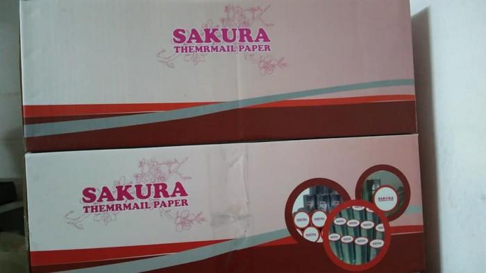 Thùng 50 cuộn giấy in nhiệt K80 x phi 65 sakura - Giá siêu hấp dẫn1