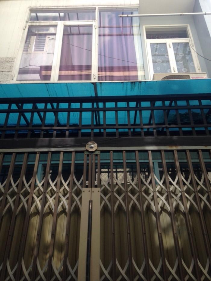 Nhà đường thông 6M Vườn Lài, 4x28m, đúc 1 lầu, sổ hồng