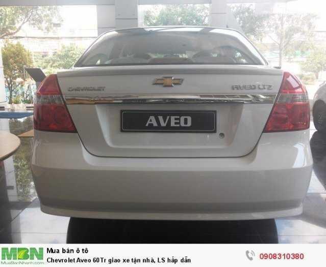 Chevrolet Aveo 60Tr giao xe tận nhà, LS hấp dẫn
