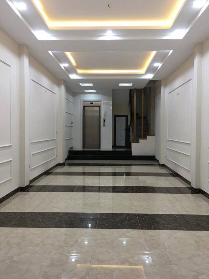 Bán tòa nhà 7 tầng phố Nguyên Hồng – Thang Máy – ô tô – Kdoanh giá 9.4 tỷ.