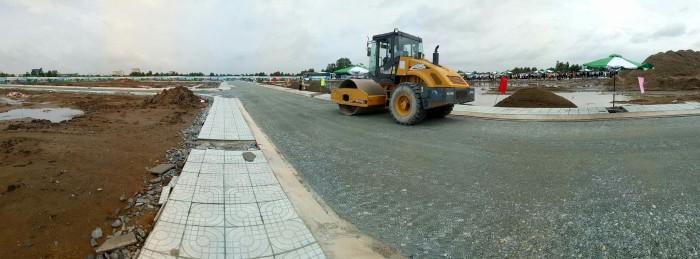 Đất Huyện Cần Đước 100m², SHR, hạ tầng 100%, liên kết ngân hàng Sacom
