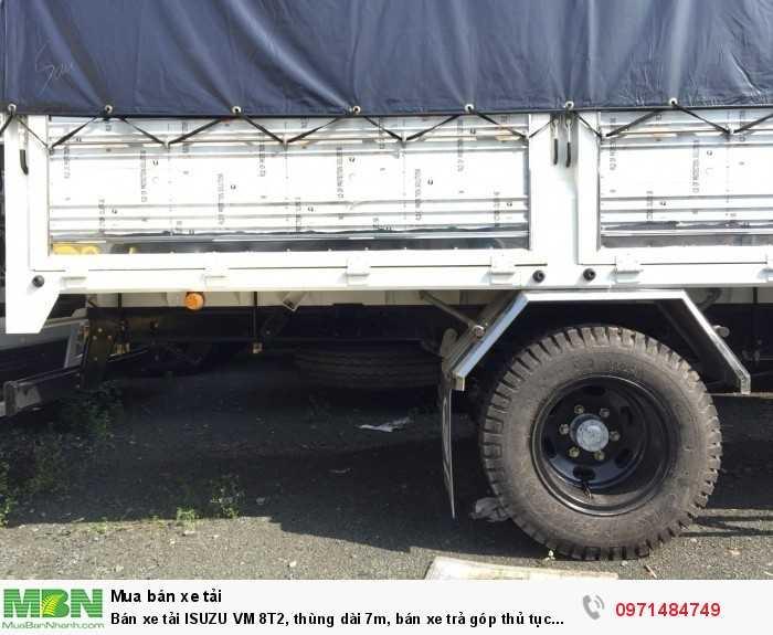 xe tải ISUZU VM 8t2 tặng kèm mui bạt xịn bền
