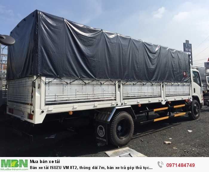xe tải ISUZU VM 8t2  Khoảng cách trục: 5.210 mm