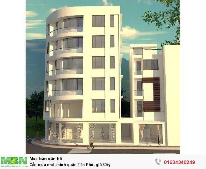 Cần mua nhà chính quận Tân Phú