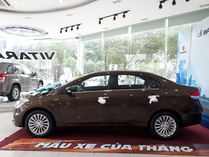 bán xe Suzuki Ciaz AT năm 2019, màu nâu, xe nhập khẩu nguyên chiếc.