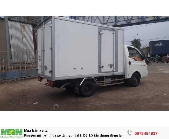 Bán xe tải Hyundai H150 1.5 tấn thùng đông lạnh - GỌI 0972494937 (24/24)