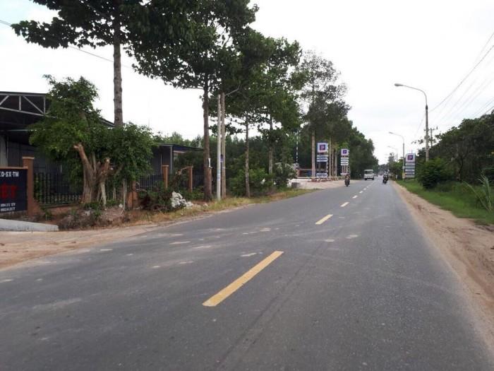 Đất nền ngay mặt tiền đường 81. đối diện Coopmart Tân Thành.