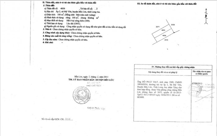 Đất thổ cư mặt tiền Nguyễn Hữu Trí, XD tự do, mặt tiền QL 1A