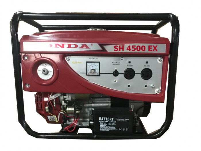 Máy phát điện honda SH 4500E BXD 3kw_nổ đề0