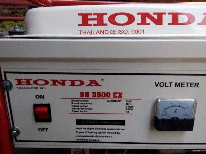 Máy phát điện honda SH 3500C le gió tự động AVR0