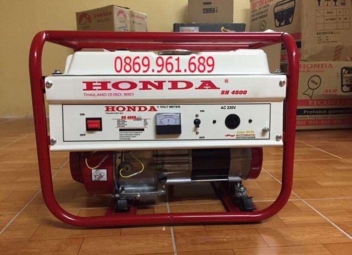 Máy phát điện honda SH 4500E 3kw_đề nổ_mẫu trắng2