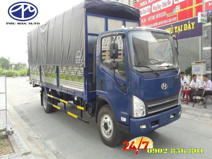 Hyundai 7 tấn 3/ thùng hàng dài 6 mét 2.
