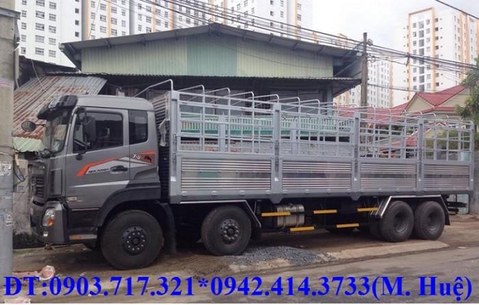 Giá bán xe tải DongFeng Trường Giang 4 Chân.Mua xe tải Trường Giang 4 chân 3