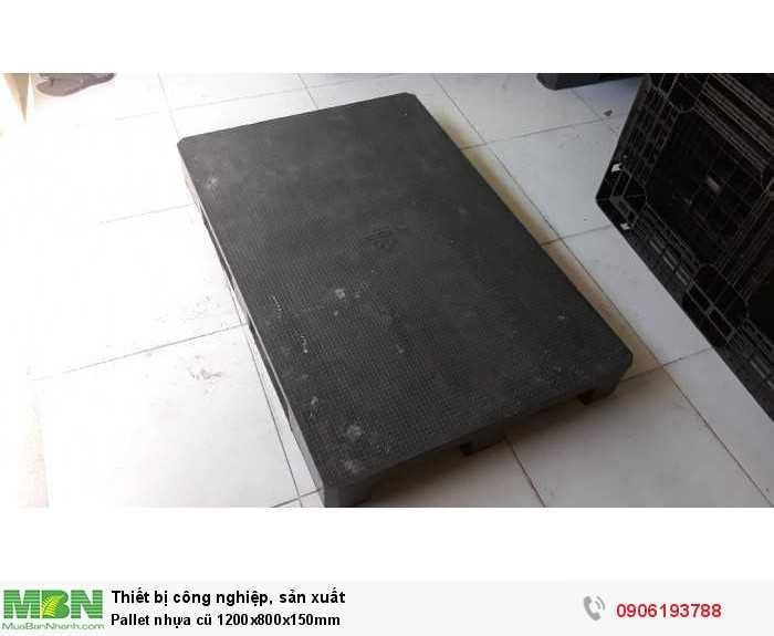 Bán pallet nhựa cũ 1200x800x150mm - GỌI 0906193788 (24/24 Ms Dung)